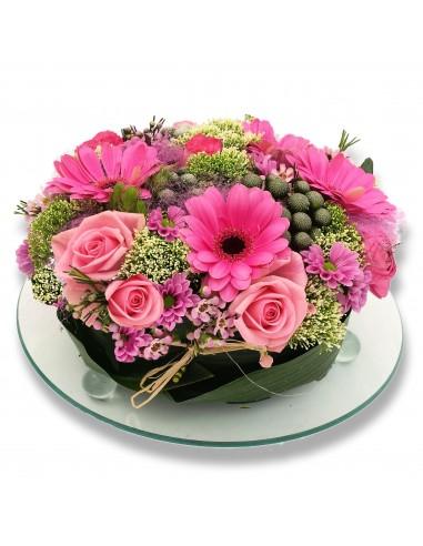 Tarte de fleurs