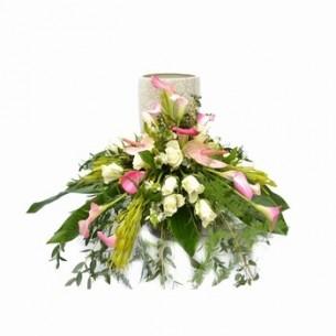 Décoration du vase cinéraire