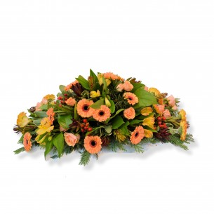 Classic funeral arrangement